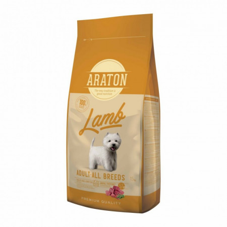 ARATON Dog Adult Lamb & Rice 15 kg