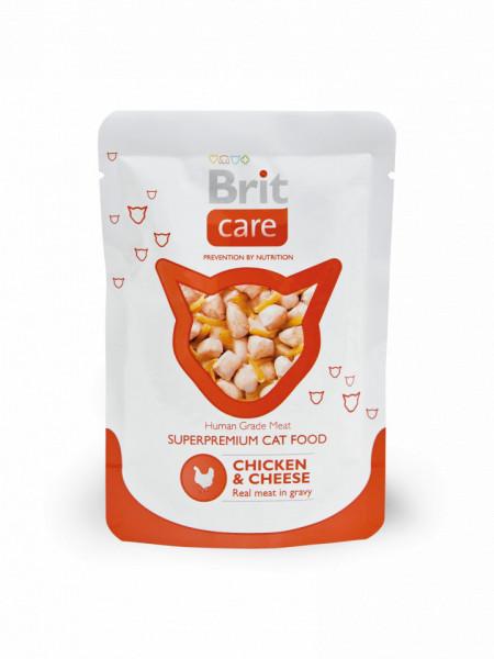 Brit Care Cat cu piept de pui si branza