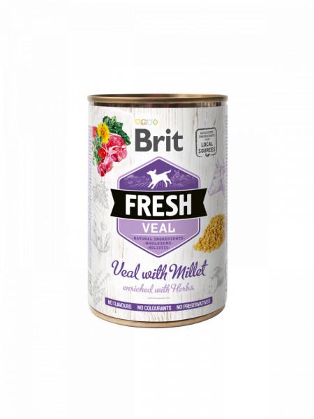 Brit FreshVeal with Millet 400 gr