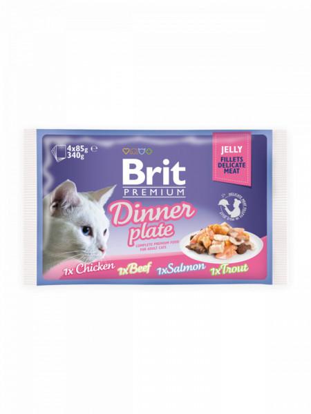 Brit Premium Cat Dinner Plate Multipack