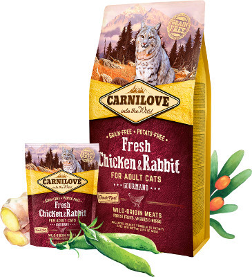 Carnilove Cat Fresh Gourmand