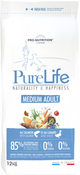 Flatazor PureLife MEDIUM Adult 12 Kg