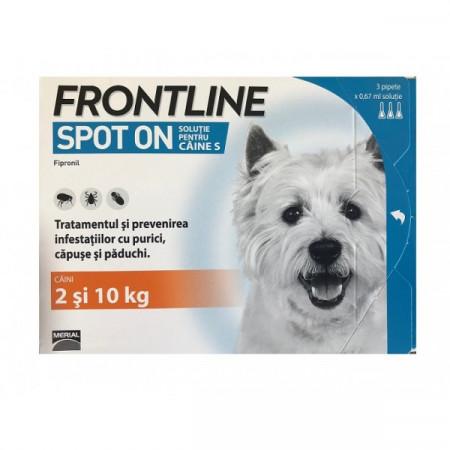 Frontline Spot On S (2-10 kg)