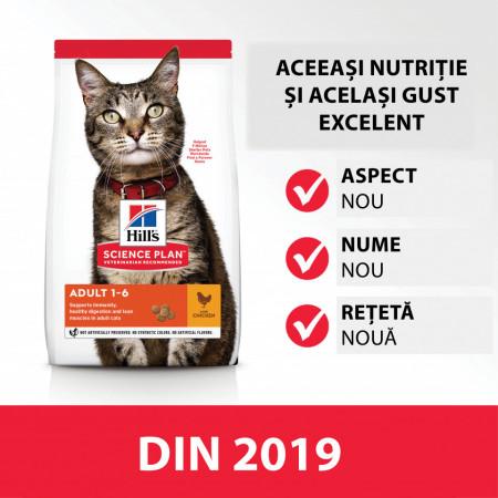 Hill's SP Adult hrana pentru pisici cu pui