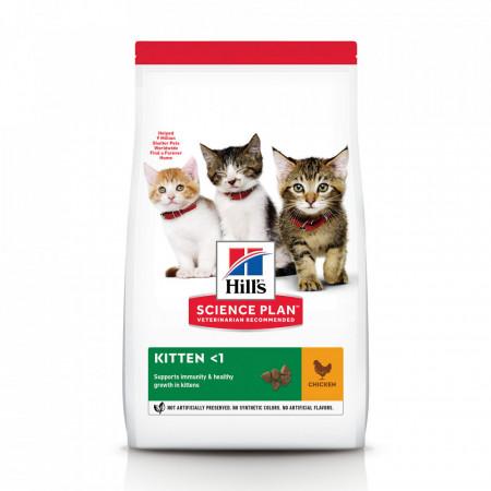Hill's SP Feline Kitten cu Pui 1.5 kg