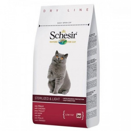 Hrana pisici Schesir Sterilised 10 kg