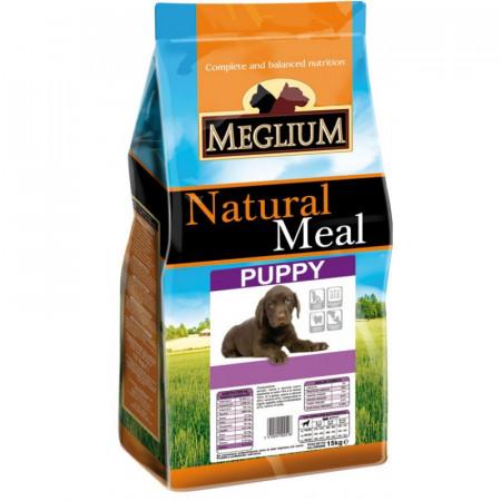 MEGLIUM Dog Puppy  Hrană completă pentru pui de câine.