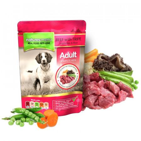 NATURES MENU DOG ADULT BEEF (300 gr.)