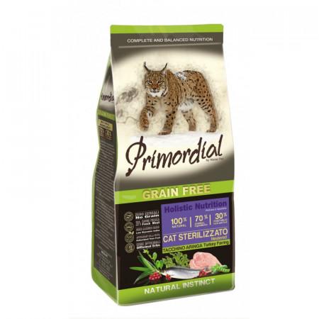 Primordial Grain-Free Holistic Cat Neutered Turkey & Herring 6kg