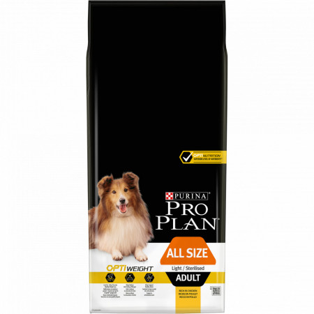 Purina Pro Plan Adult All Size Light/Sterilised