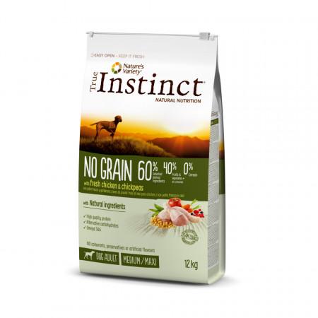 True Instinct No Grain Dog Medium & Maxi Adult 12 kg