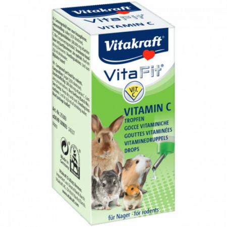 Vitamine pentru rozatoare Vitakraft Vitafit Vitamina C 10 ml