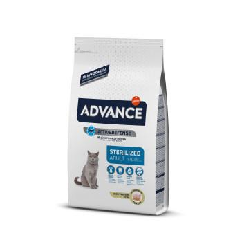 Advance Cat Adult Sterilized Curcan 3 kg