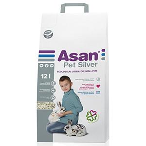 Asternut Igienic Asan Pet Silver 12 L