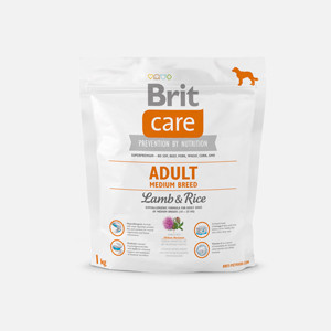 Brit Care Medium breed cu miel și orez 1 kg