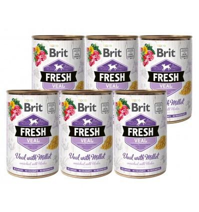 Brit FreshVeal 6 x 400 gr