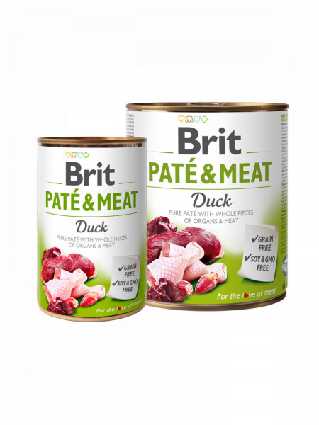 Brit Pate and Meat Duck 800 gr + 400 gr