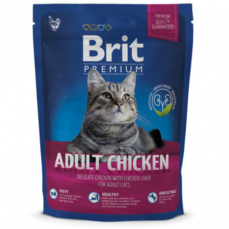 brit premium cat adult chicken 300 gr