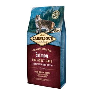 Carnilove Cat Sensitive & Long Hair Somon 6 kg