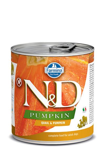 N&D Pumpkin cu prepelița și rodie