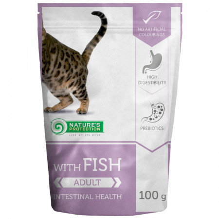 NATURES PROTECTION Cat Intestinal Health with Fish (100g)