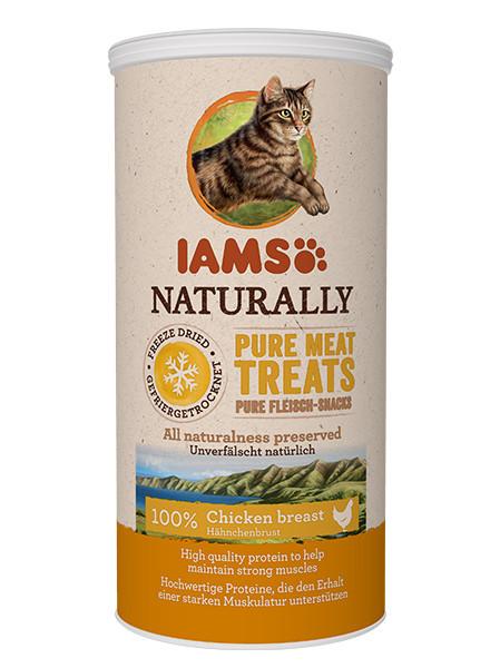 Recompensa pisici IAMS Cat Freeze Dried cu Pui
