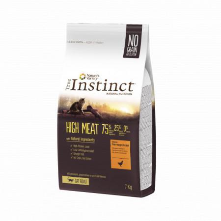 True Instinct High Meat Cat cu pui 1 kg