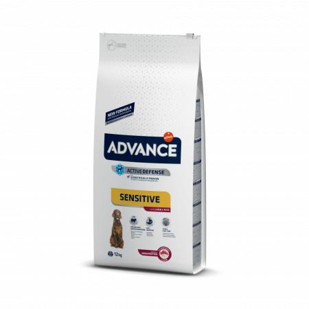 Advance Dog Sensitive Miel și Orez 12 kg