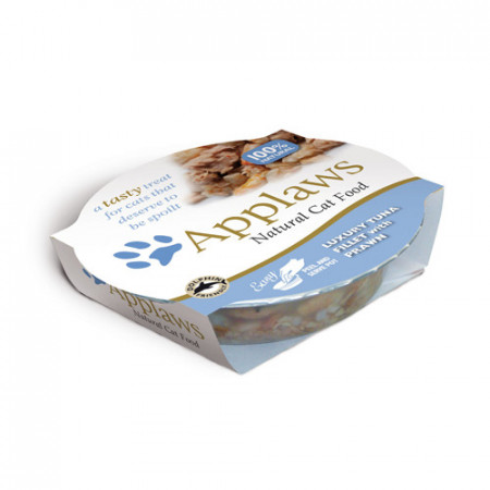 Applaws Cat Adult Bol Ton si Creveti 60 g