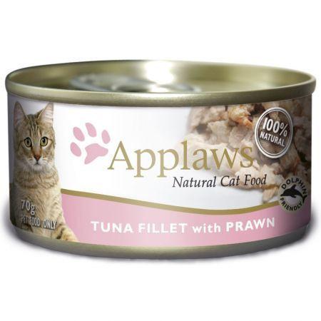 Applaws CAT  fileuri de ton și creveți  156 gr