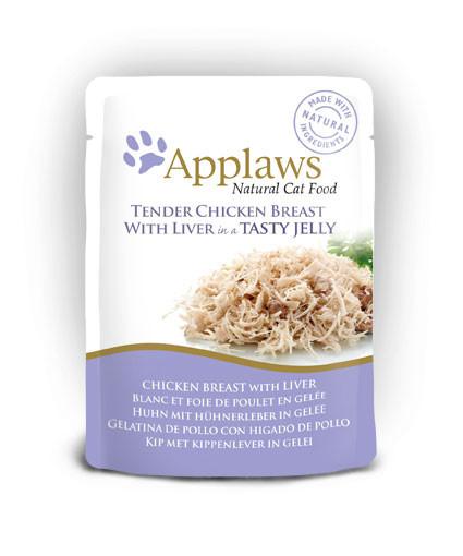 Applaws CAT piept de pui și ficat