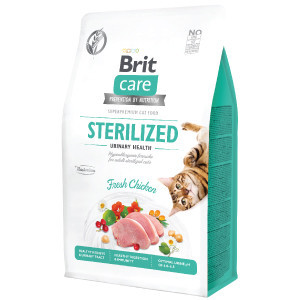 Brit Care Cat GF STERILIZED URINARY HEALTH 2 kg