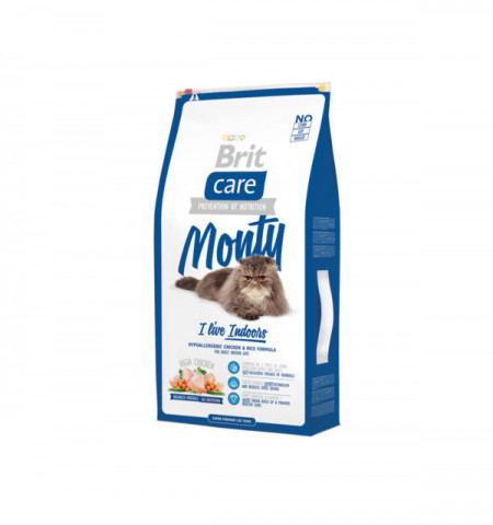 Brit Care Cat Monty Living Indoor 7 kg