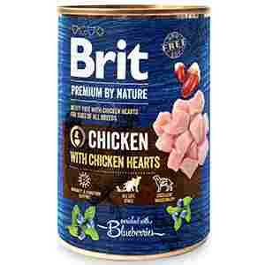 Brit Premium by Nature Chicken with Hearts 400 gr