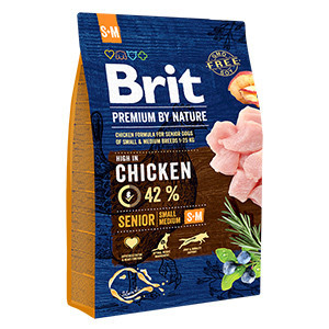 Brit Premium by Nature Senior S - M 3 kg