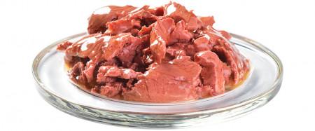 Somon in Sos este o hrana umeda completa pentru pisicile adulte sterilizate