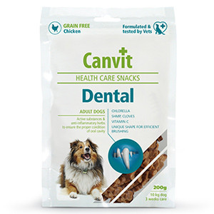 Canvit Health Care Snack Dental 200 gr