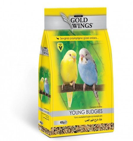 GOLD WINGS CLASSIC BUDGIE/PERUS 400GR