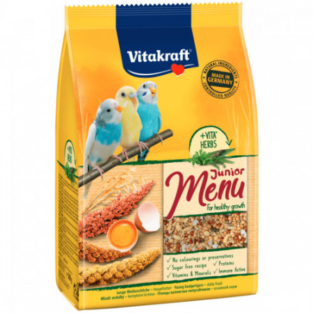Hrana pentru perusi Vitakraft Premium Menu Junior 500 Gr