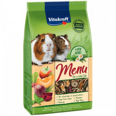 Hrana pentru porcusori de Guineea Vitakraft Premium Menu 1 Kg