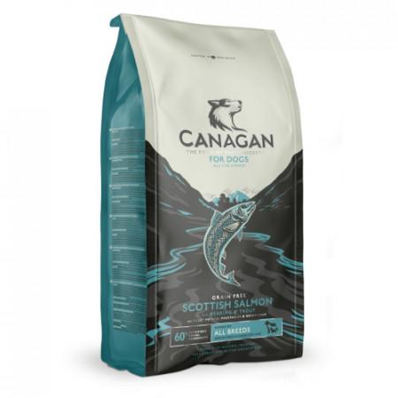 Hrana uscata caini Canagan Adult somon 12 kg
