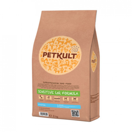 Hrana uscata caini Petkult Sensitive Starter miel si orez 2 kg