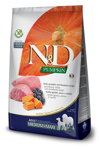 N&D Dog Medium&Large Grain Free Pumpkin