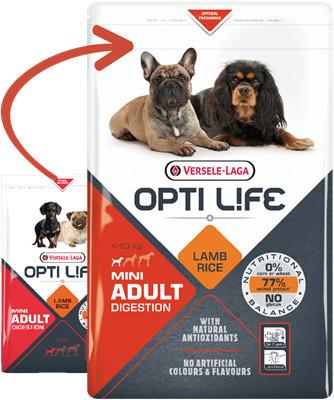 Opti Life Adult Digestion Mini cu Miel