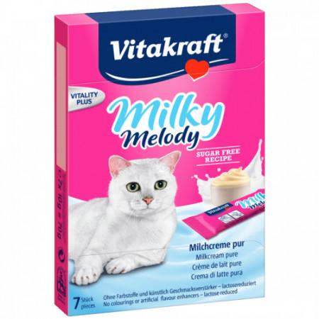 Recompense pentru pisici Vitakraft Cat Milky Melody 70 gr
