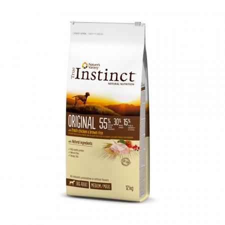 True Instinct Original Dog Medium & Maxi Adult 12 kg
