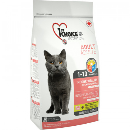 1ST CHOICE CAT ADULT INDOOR VITALITY 2.72 KG