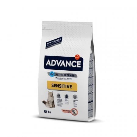 Advance Cat Adult Sensitive Somon 3 kg
