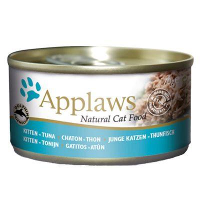 Applaws CAT hrană umedă cu ton pentru pisicuțe