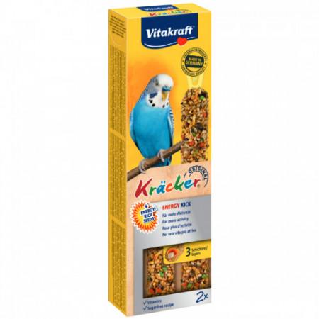 Baton pentru perusi Vitakraft Kracker Energy Kick 60 gr